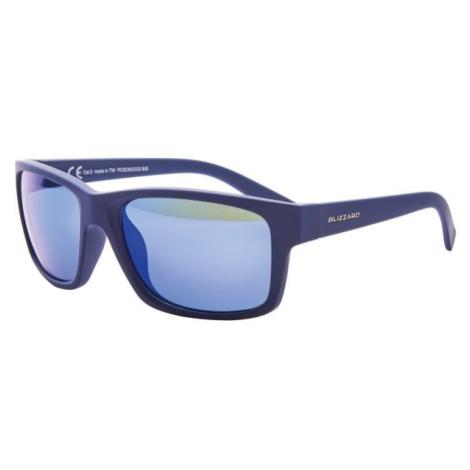 Blizzard PCSC602333 tmavě modrá - Polykarbonátové sluneční brýle