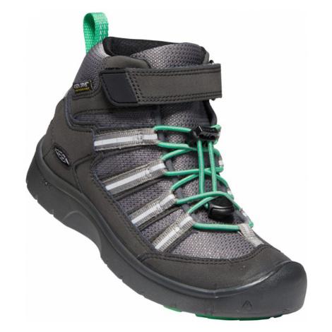 KEEN HIKEPORT 2 SPORT MID WP C Dětská celoroční obuv 10007880KEN01 black/irish green