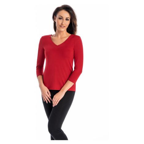 Dámské tričko Leondrea červená teyli