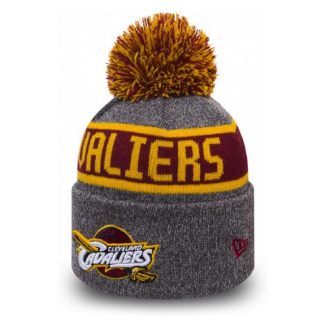 Dětská zimní čepice New Era Marl Knit NBA Cleveland Cavaliers