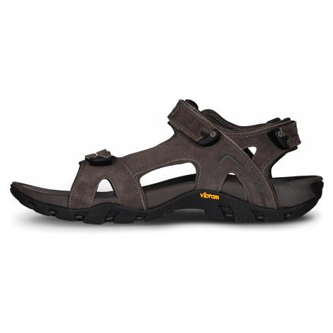Nordblanc Martinez pánské kožené sandály černé
