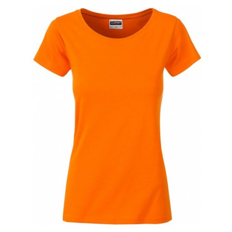 Klasické dámské tričko z biobavlny 8007 James & Nicholson