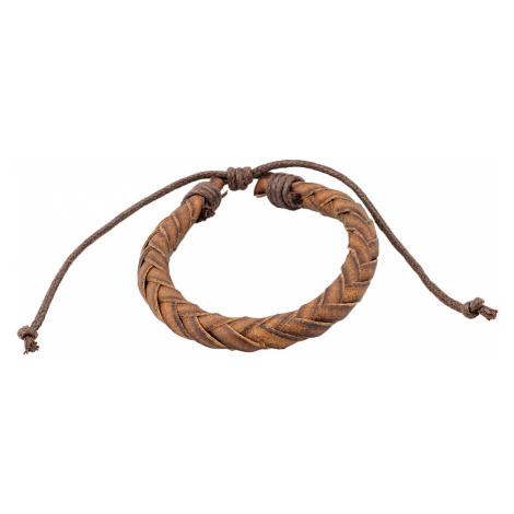Linda's Jewelry Kožený náramek Forest INR117