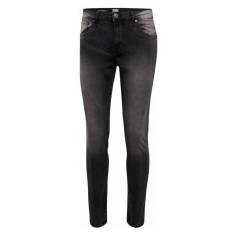 Urban Classics Džíny 'Relaxed Fit Jeans' černá džínovina