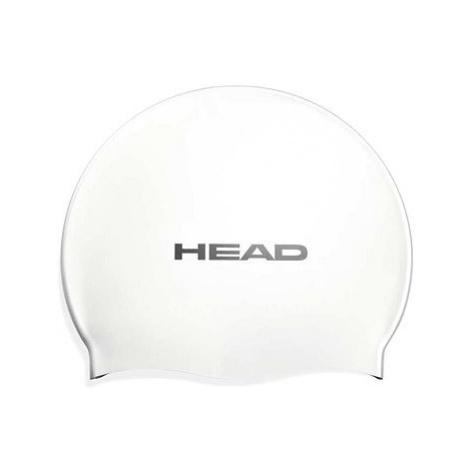Head Silicone Flat, bílá