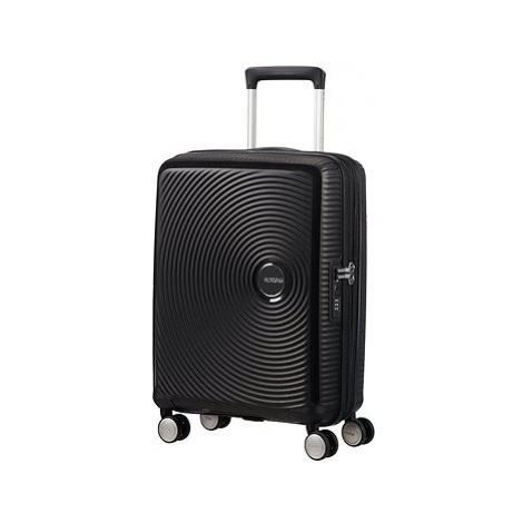 American Tourister Soundbox Spinner 55 Exp Bass Black