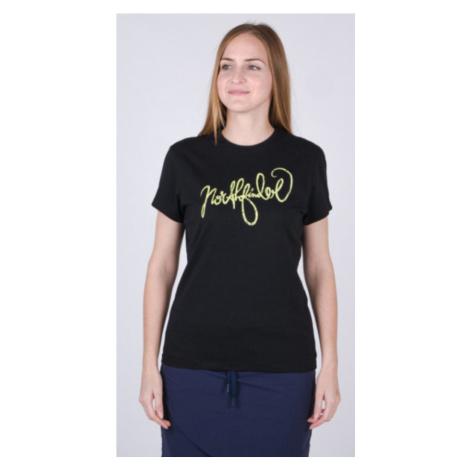 NORTHFINDER MEADOW Dámské tričko TR-4544SP269 černá