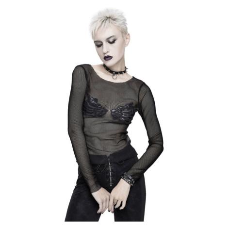 tričko dámské s dlouhým rukávem DEVIL FASHION - TT135