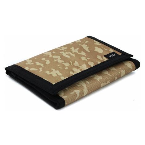 Béžová textilní peněženka se vzorem Perryn HG Style