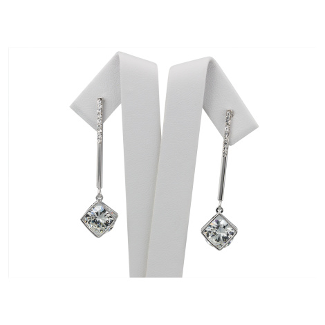 Linda's Jewelry Náušnice Magic Square Visací IN134