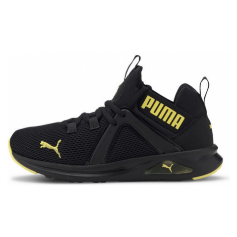 Puma ENZO 2 WEAVE JR černá - Chlapecké volnočasové boty