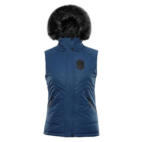 Dámská vesta Alpine Pro JARVISA 3 - tmavě modrá