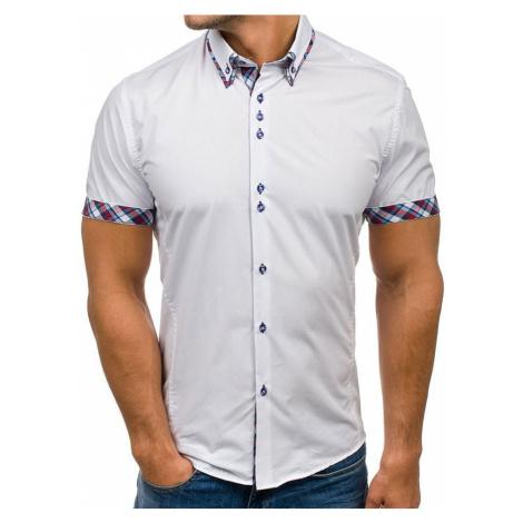 Pánská košile BOLF 6540 bílá