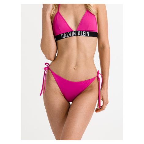 Cheeky String Spodní díl plavek Calvin Klein Růžová