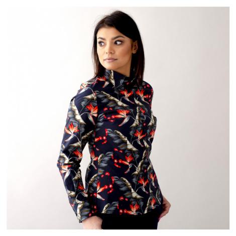 Dámská košile s barevným květinovým potiskem 10618 Willsoor