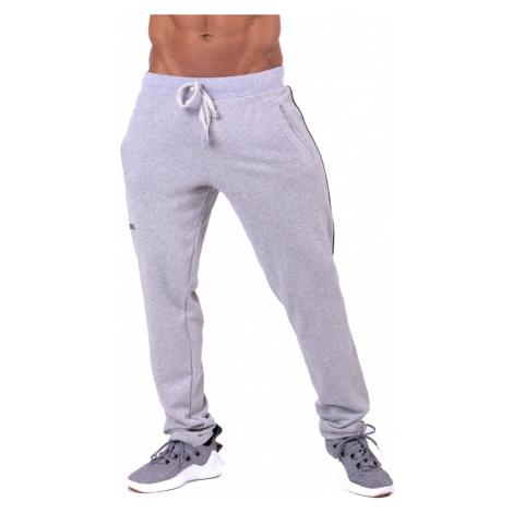 Pánské Tepláky Nebbia Side Stripe Retro Joggers 154 Grey