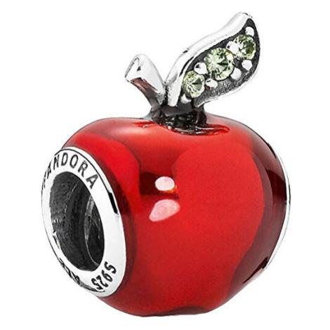 Pandora Překrásný korálek Disney Sněhurčino jablko 791572EN73