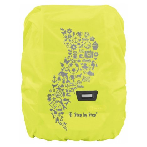 Pláštěnka pro školní aktovku nebo batoh žlutá Hama