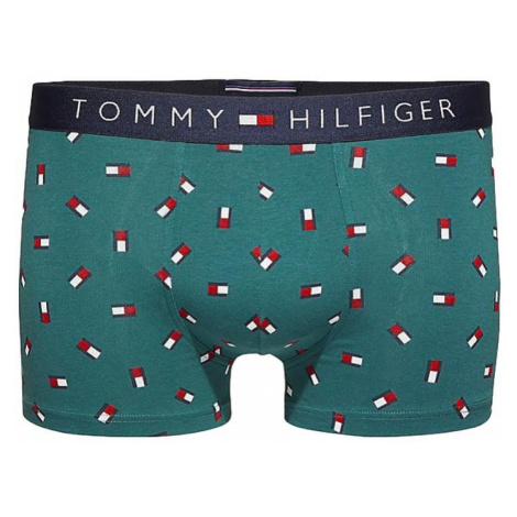 X-MAS Dárkové balení Tommy Hilfiger Mini Flag boxerky - Atlantic Deep