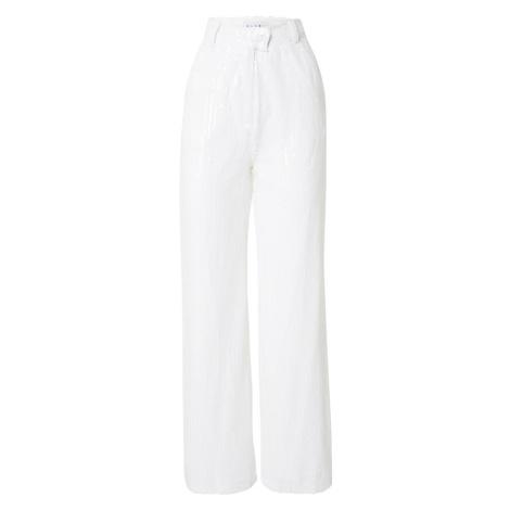 CLUB L LONDON Kalhoty 'Sequin' slonová kost