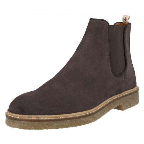 Hudson London Chelsea boty šedá