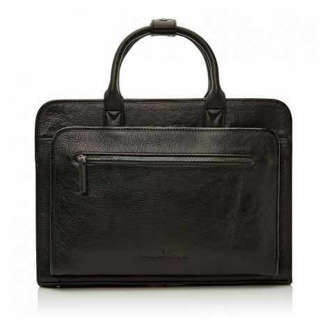 Castelijn & Beerens Pánská kožená taška 649475 - černá