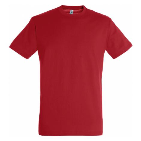 SOĽS Uni triko REGENT 11380145 Red SOL'S