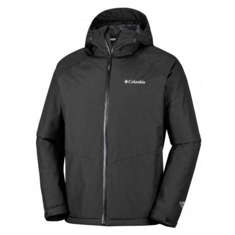 Columbia MOSSY PATH JACKET černá - Pánská nepromokavá bunda