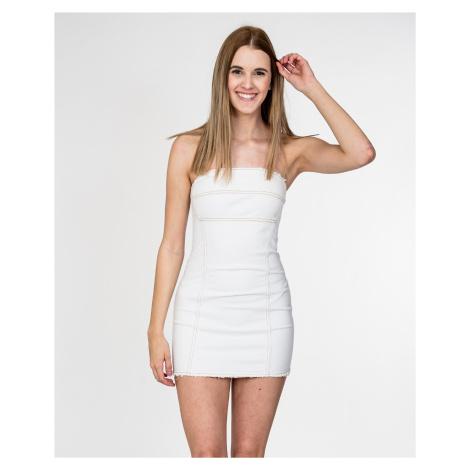 Bílé džínové šaty - CYCLE JEANS