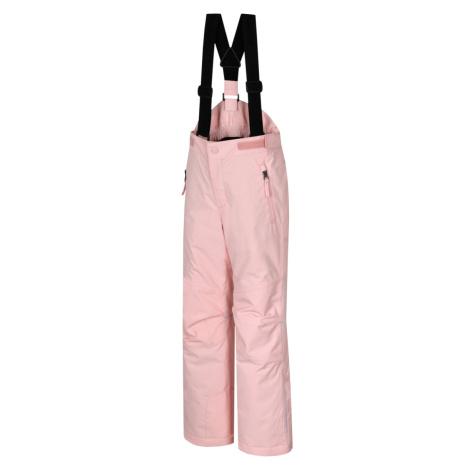 HANNAH AKITA JR II Dětské lyžařské kalhoty 10005162HHX01 seashell pink