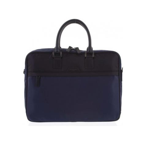 Hexagona Pánská taška na notebook modro černá - Aslan Modrá