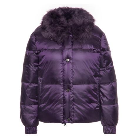 Fialová zimní bunda EMPORIO ARMANI