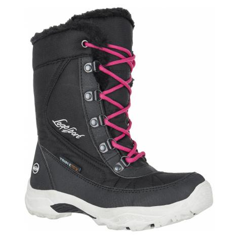 LOAP ICE KID Dětské zimní boty HSK14180V14J jet set/červená