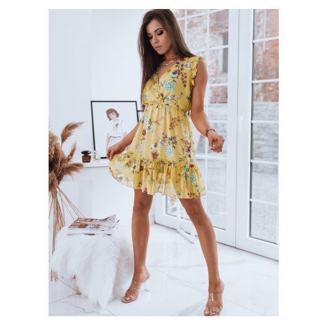 Dress RAFAELLA yellow Dstreet EY1567