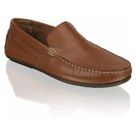 Skyline nazouvací boty - hladká kůže