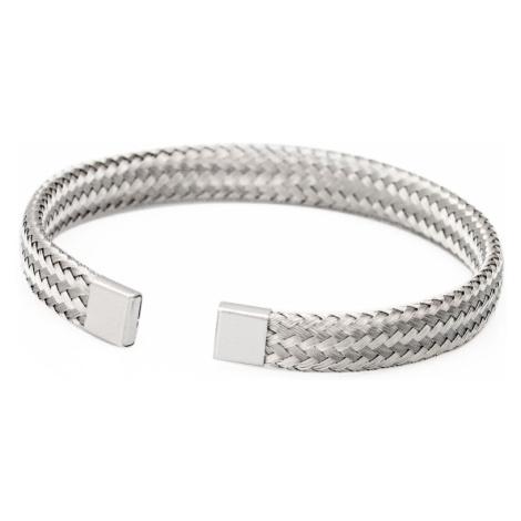 Linda's Jewelry Náramek Splétané Nitky chirurgická ocel INR025