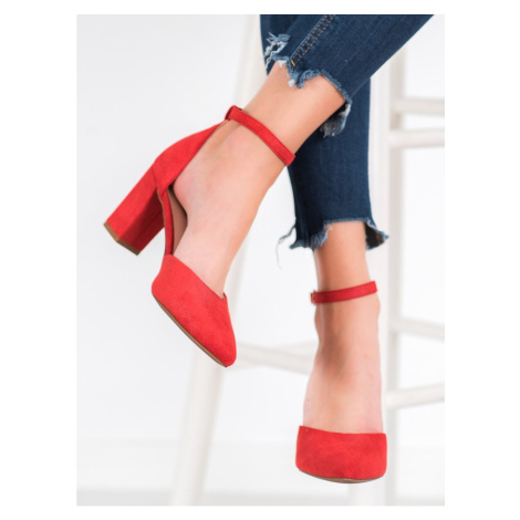 W. POTOCKI SUEDE PUMPS IN THE MYELOMA