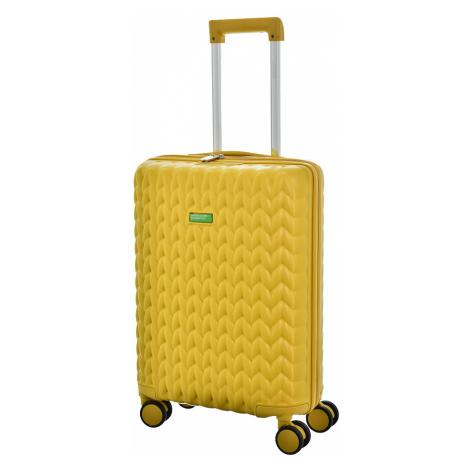 Cestovní kufr Benetton KNIT 4W S United Colors of Benetton