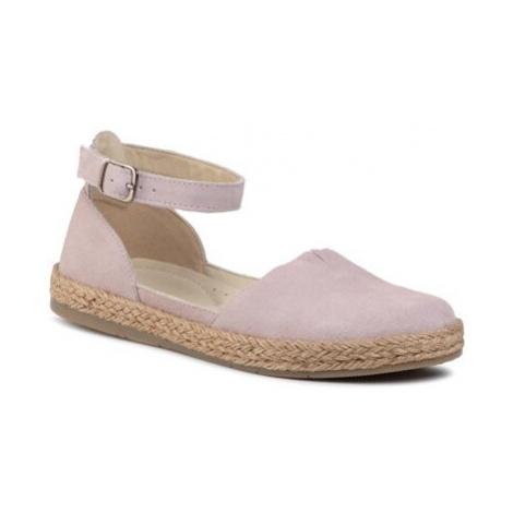 Sandály Lasocki WI16-SPAROW-04 Přírodní kůže (useň) - Semiš