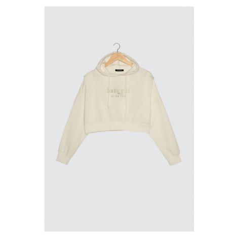 Trendyol Knitted Sweatshirt Sweatshirt