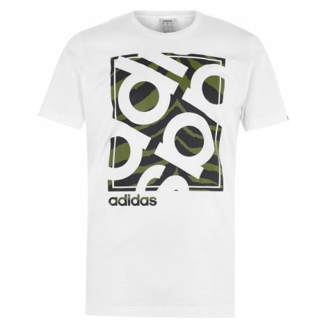 Pánské tričko Adidas Camo Box