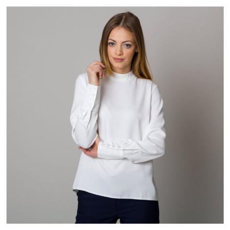 Dámská košile bílá s dlouhým rukávem 12531 Willsoor