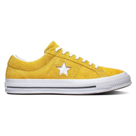 BOTY CONVERSE ONE STAR VINTAGE SUEDE - žlutá