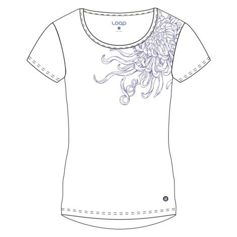ABBLINA women's t-shirt white LOAP