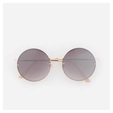 Reserved - Kulaté sluneční brýle - Fialová