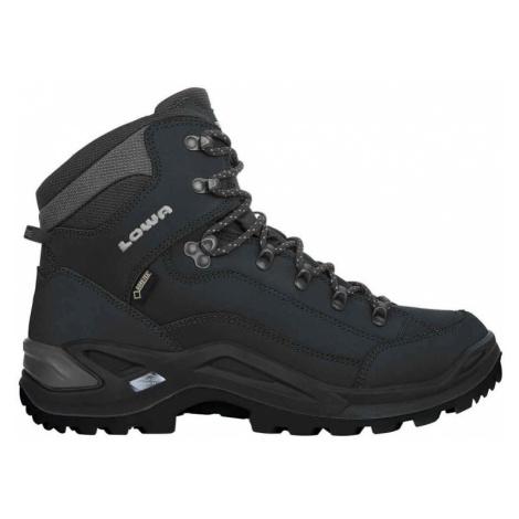 Treková obuv LOWA Renegade GTX MID deep black UK