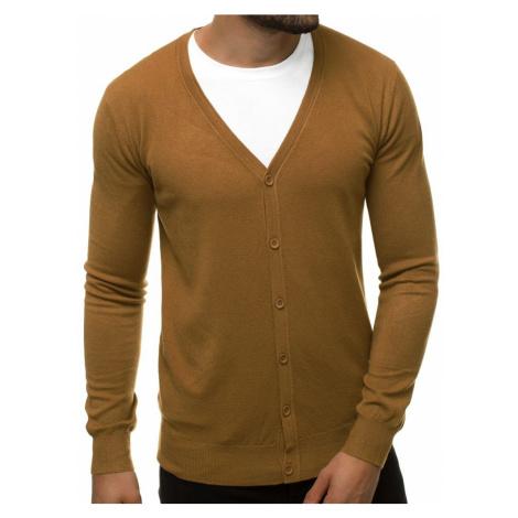 Nádherný svetr v hnědé barvě TMK/YY06/7