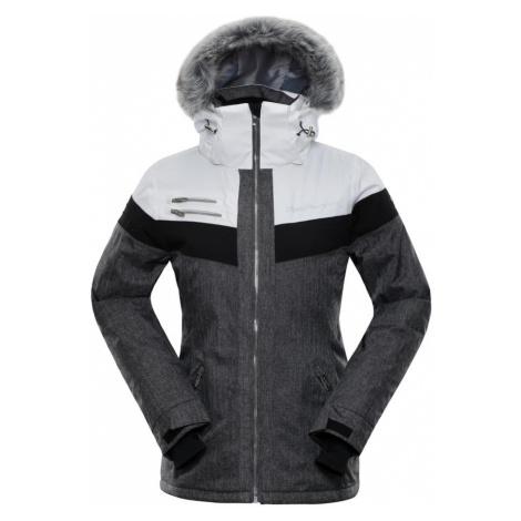 ALPINE PRO DORA 5 Dámská lyžařská bunda LJCM286000 bílá