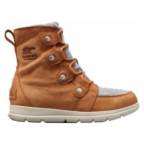 Sorel EXPLORER JOAN hnědá - Dámská zimní obuv