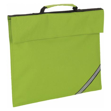 SOĽS Taška na doklady A4 OXFORD 01670281 Lime SOL'S